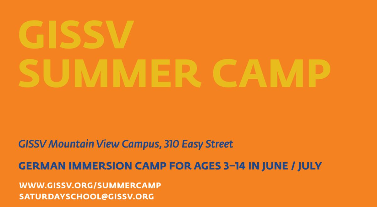 Summer Immersion Camp 2018