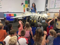 3rd Graders Learning About Marine Life