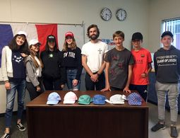 Guest Entrepreneur Teaches French Club students