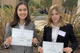GISSV Students Win Award at MUN Conference