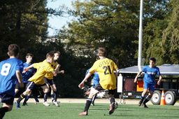 MS Boys Soccer Team in the Semi-Final